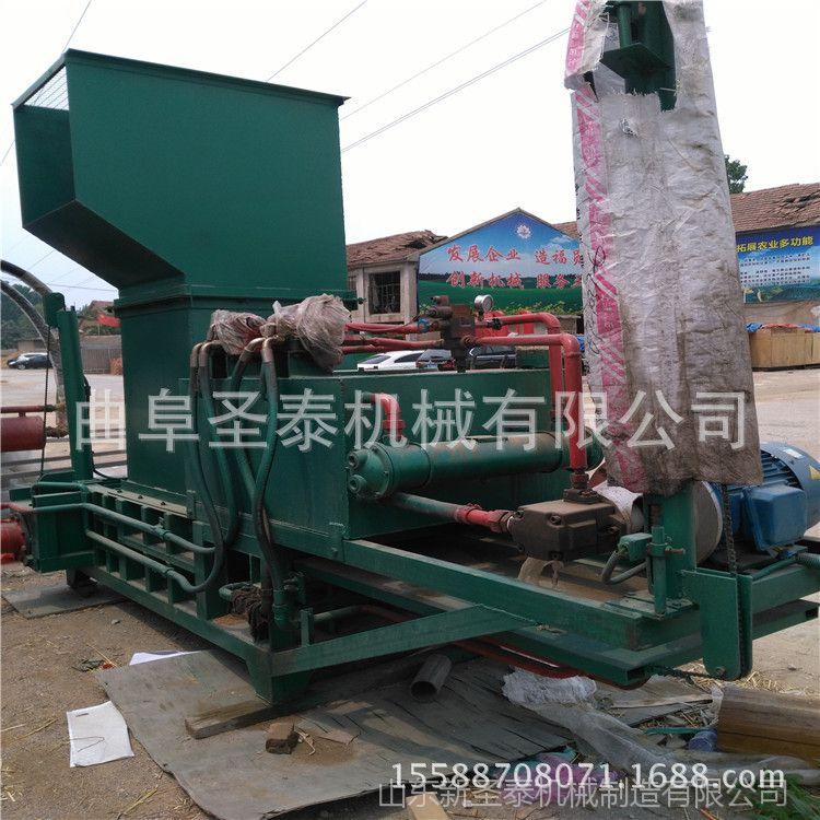 现货供应全自动废纸打包机 卧式液压打包机 秸秆打包机