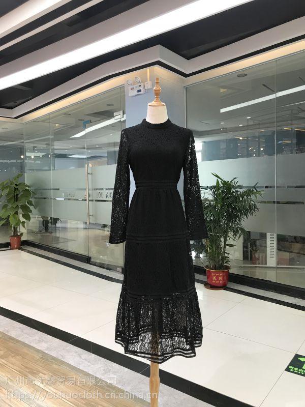 2018年春季新款女装批发 舒丽装点品牌折扣一手货源尾货走份
