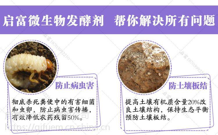 发酵猪粪做菌肥用的猪粪发酵剂哪个牌子的质量好