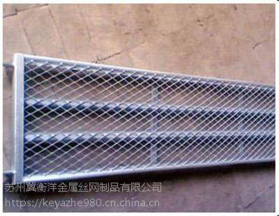 菱形孔重型钢板网Q235承载重力大抗拉强度高结构坚固
