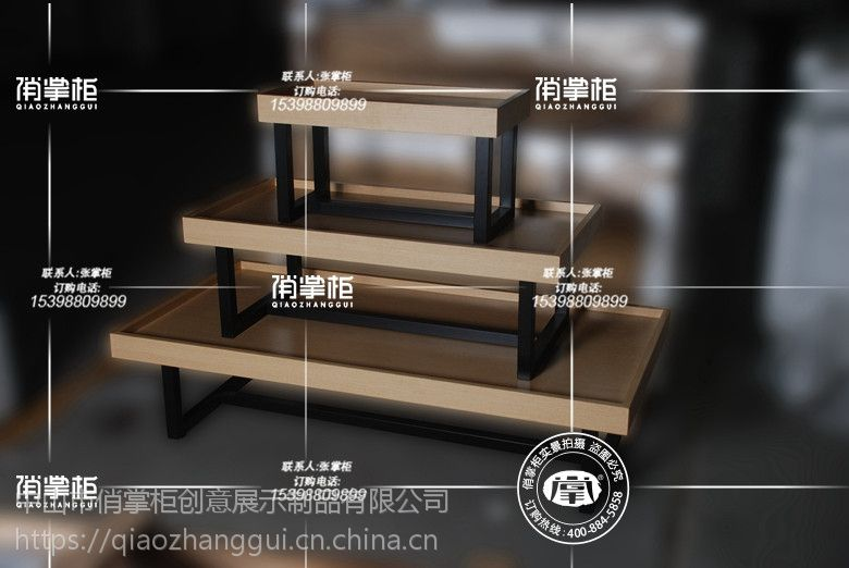 双面层板体验柜(二) 俏掌柜厂家直销