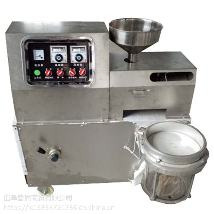 不锈钢流动榨油机 电动花生榨油机多少钱一台