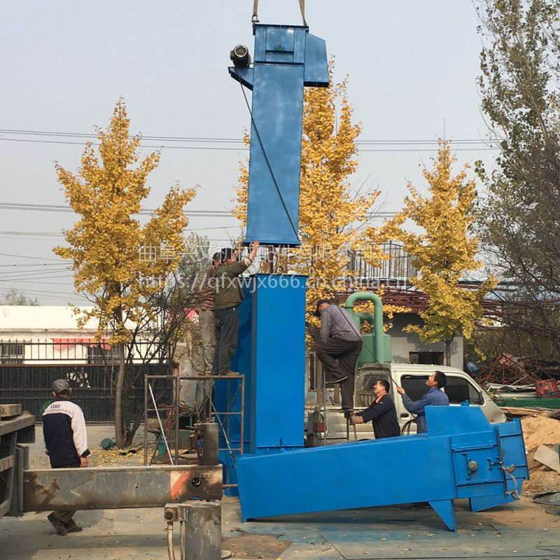 山东兴文机械 供应各种环链板链斗式提升机 垂直倾斜斗提输送机 沙子上料机