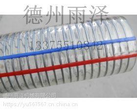 批发钢丝伸缩软管,pu透明软管-宁津雨泽钢丝伸缩软管高品质