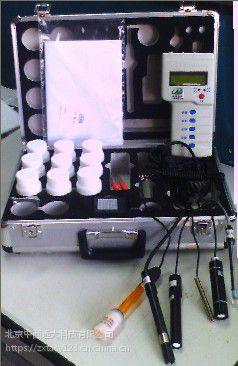 中西(DYP)便携式水质分析仪(温度、盐度.pH.氨氮) 库号:M259874
