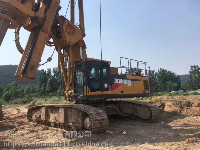 出租旋挖 河北张家口2台优质徐工360旋挖钻