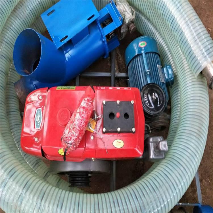 软管可自由吸粮机 农用小型抽粮机润丰