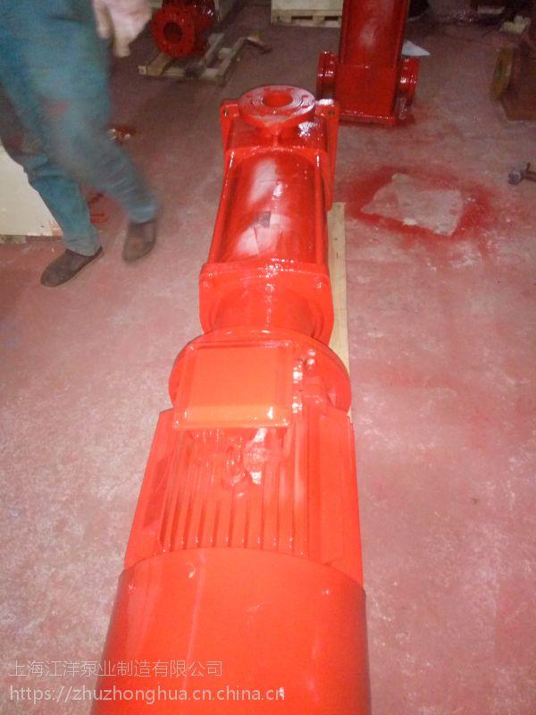 齐齐哈尔市消防泵价格XBD3.6/66.67-65*3消火栓 泵稳压泵 喷淋泵