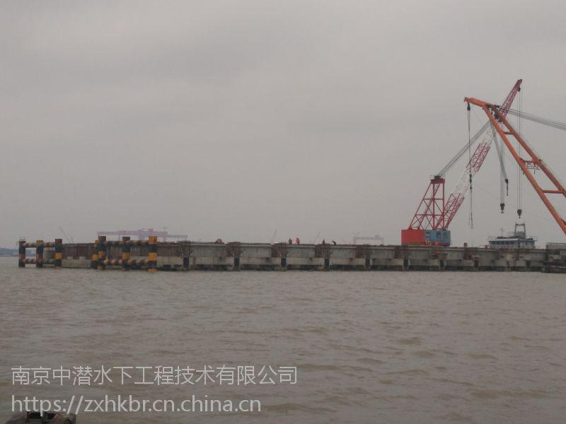 青岛中潜潜水打捞 水下维修 安装 切割 录像 桥梁桩基加固 码头钢管桩焊接公司