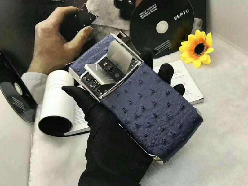 2018新款5.2寸威图vertu手机 8G/64G 真蛇皮 蓝宝石原装屏 远程拾音定位 微信监视