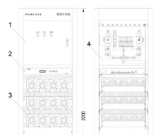 PR-4830 DC48V 30A 新泰达 充电模块 整流模块PS-48/360型