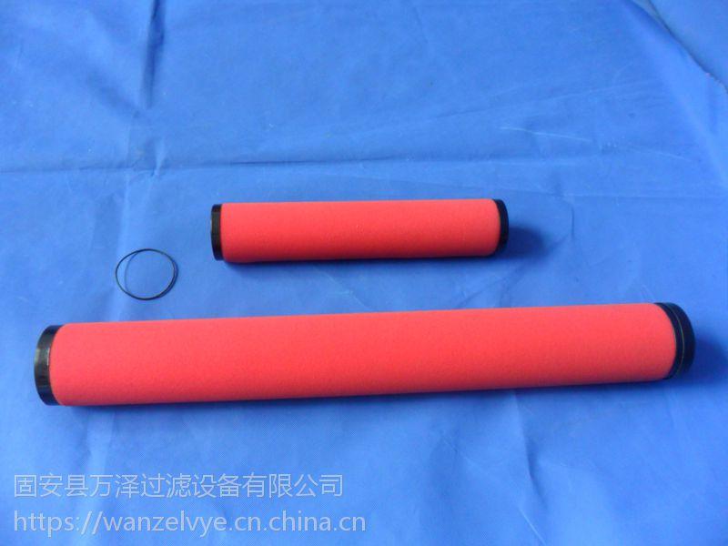 万泽气体过滤煤层气过滤器滤芯F-1602 燃气滤芯