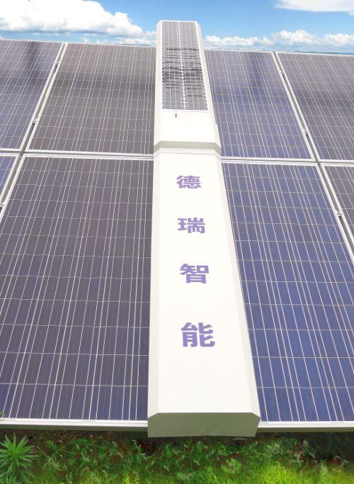 光伏板是怎么用机器清洗的,光伏板清洁机器清洗过程