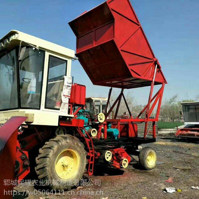 菏泽厂家求购一台大型玉米秸秆靑储机 粉碎机 回收机 饲料收集机