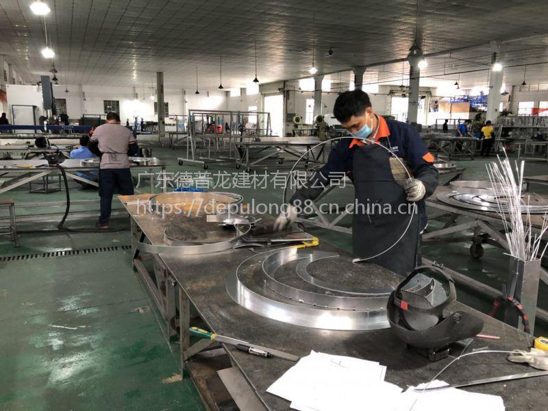 滨州市焊接双曲红色铝单板特色天花每平米价格368元起