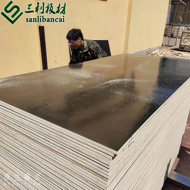 三利板材1220*2440建筑大模板密度均匀厂家直销