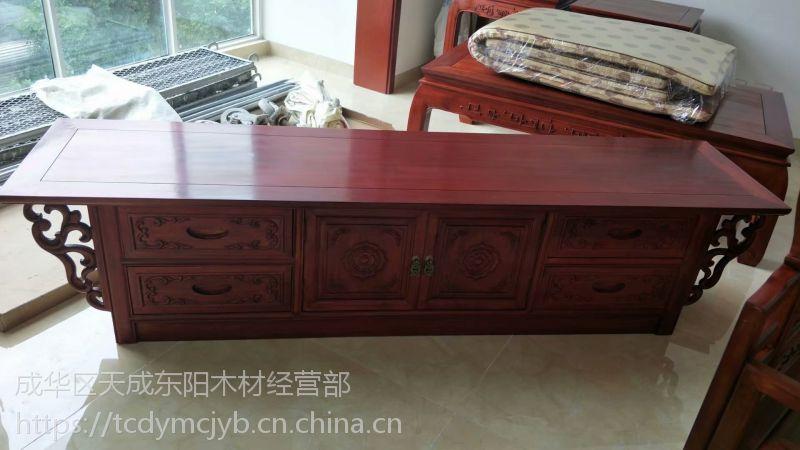 成都中式家具厂家仿古全屋定制家具原木新中式沙发榫卯结构传统工艺1+1+3组合