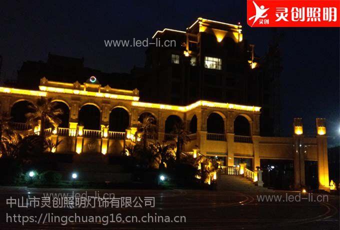 山东济南LED全彩外控数码管高品质是关键灵创照明
