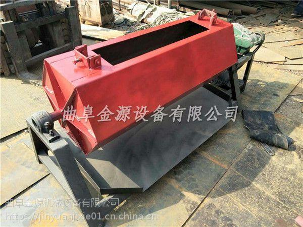 六角打磨去锈抛光机 金源大容量铁件翻新抛光机