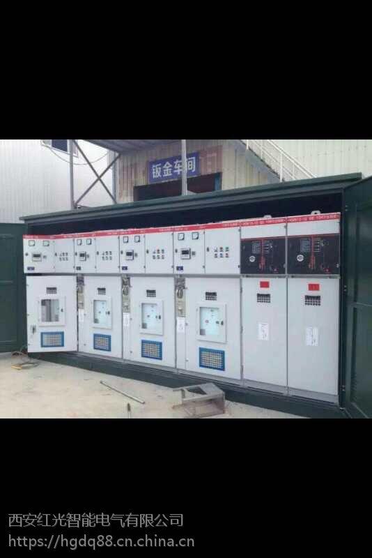 四川江油市10KV高压电缆分支箱一进三出进出线负荷开关保护