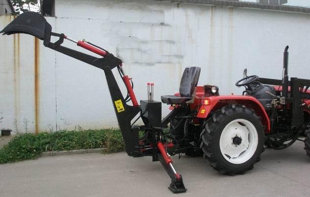 小型挖掘机 农用挖掘机 小四轮拖拉机改装图片
