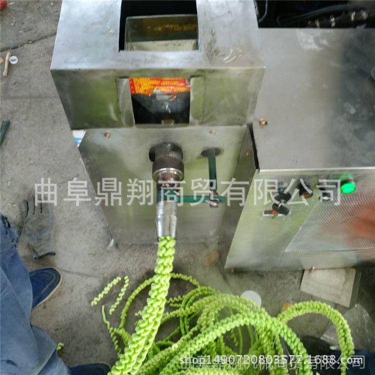 厂家直销绿豆冰糖麻花膨化机 汽油机带动膨化机 柴油膨化机