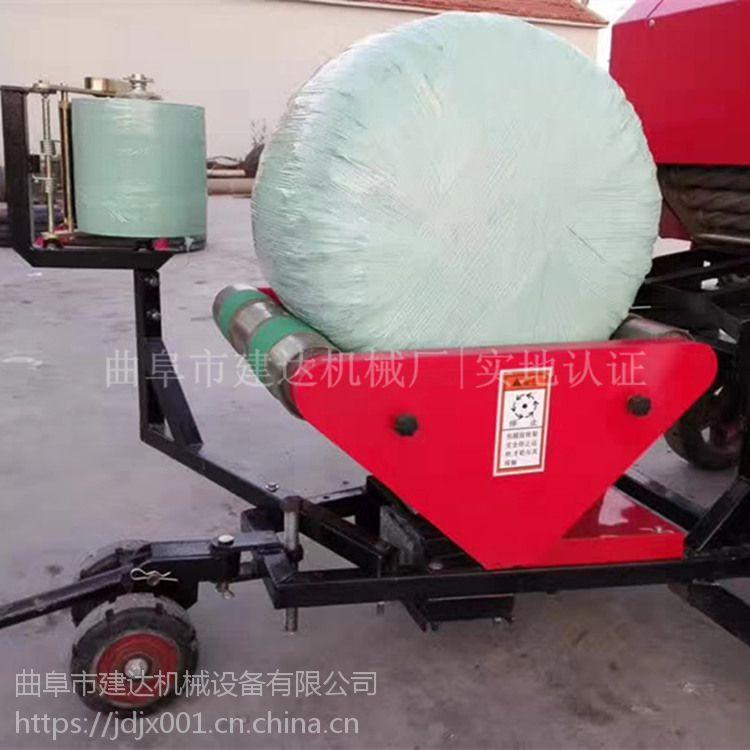 全自动秸秆青贮打捆打包机 玉米秸秆打捆打包机厂家