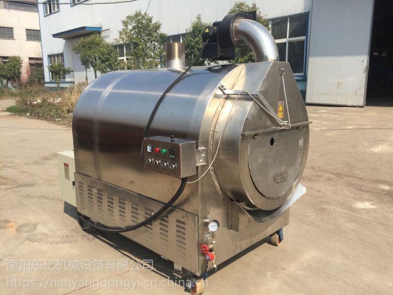 芝麻炒货机用气量少的机器 节能环保型芝麻炒货机厂家直营 南阳东亿15688198688