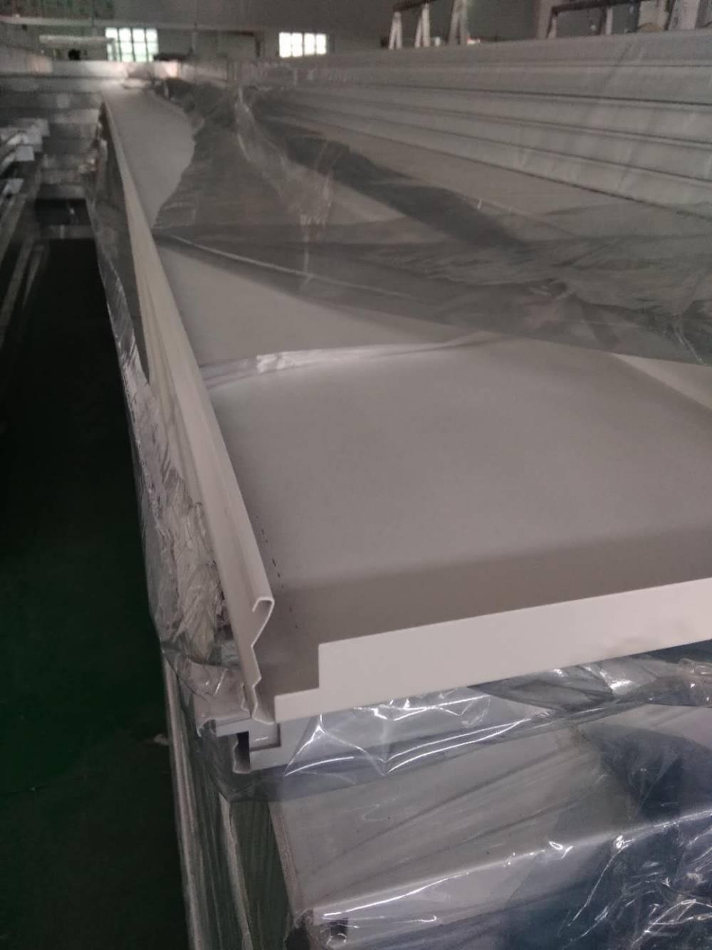 加油站S型高边条扣板 防风铝条扣板天花吊顶