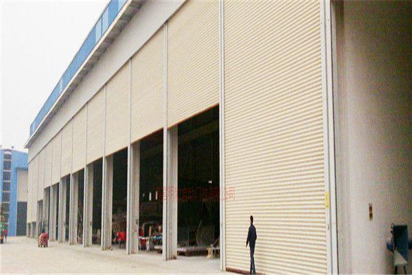 江西工业厂房门 钢制电动平移门 优质厂房门制造商