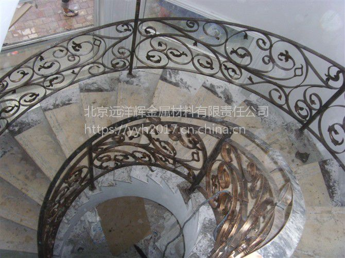 远洋辉铜门 铝门 楼梯扶手 阳台护栏 铁艺栏杆