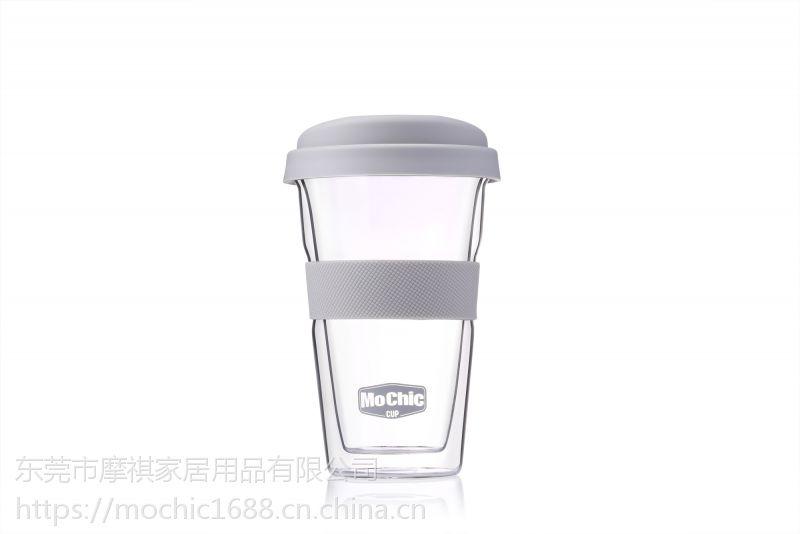 双层玻璃咖啡杯定制高硼硅玻璃杯创意果汁杯批发百货茶杯杯子定做