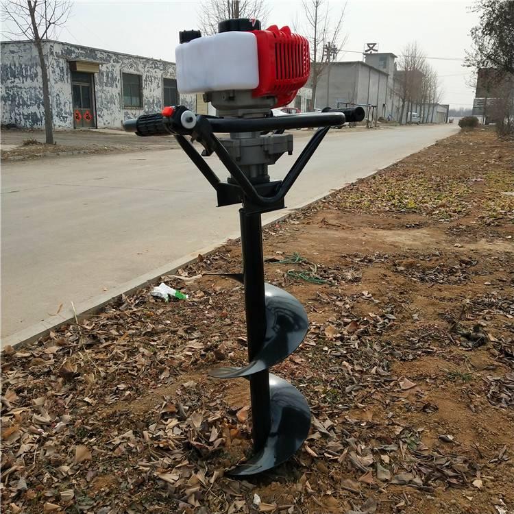 新型挖坑立杆一体机 植树造林栽种果树打坑机 乐丰牌