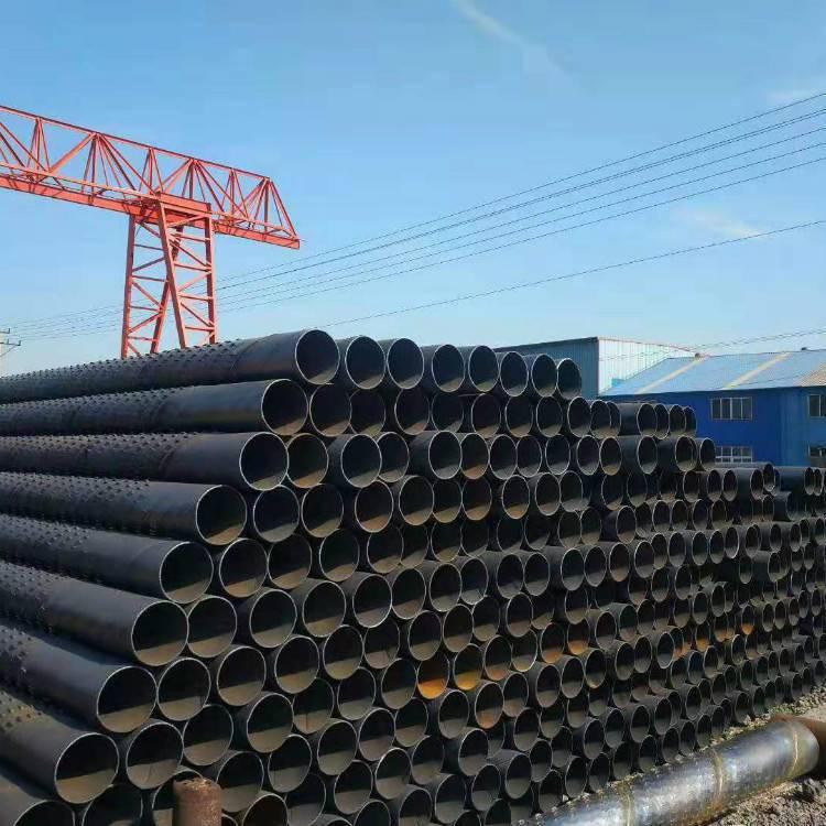 打桩用273井壁管降水井螺旋钢管325型号厂家