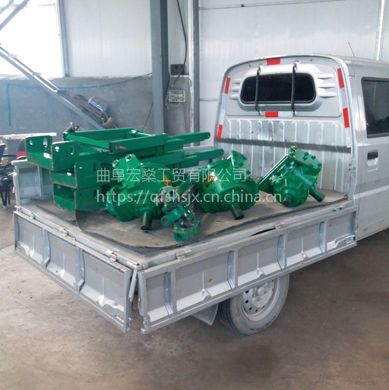 【宏燊】牵引式拖拉机挖坑机 农用牵引式植树钻坑机 支持订做