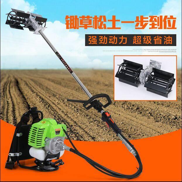 6款刀头可用锄草机【 小型收割机 【买新机用了在说效果】微耕机