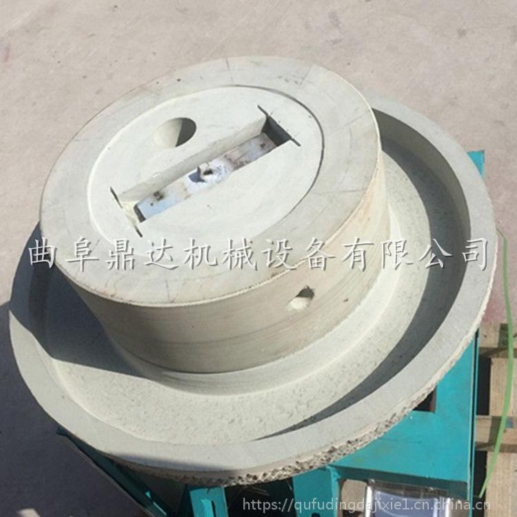 220V两项电供应豆浆石磨 天然石材专用于豆腐石磨 鼎达热销