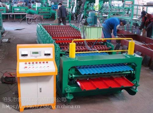 河北专业压瓦机设备厂家