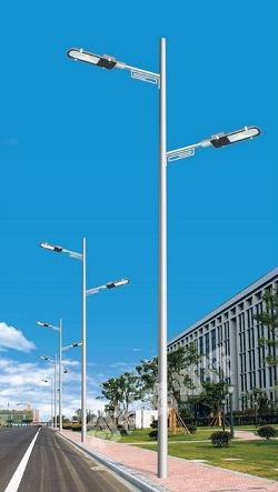 供应全国 铝合金热镀锌喷塑锥形灯柱 灯杆