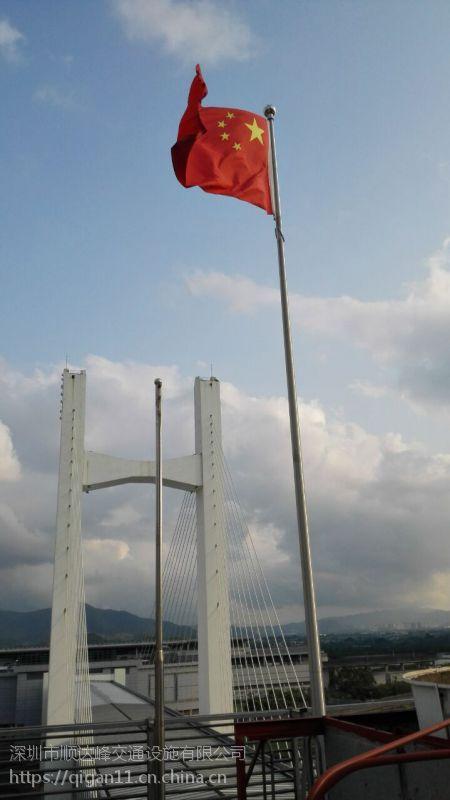深圳做旗杆厂家,深圳不锈钢旗杆多少钱一米,深圳工地旗杆