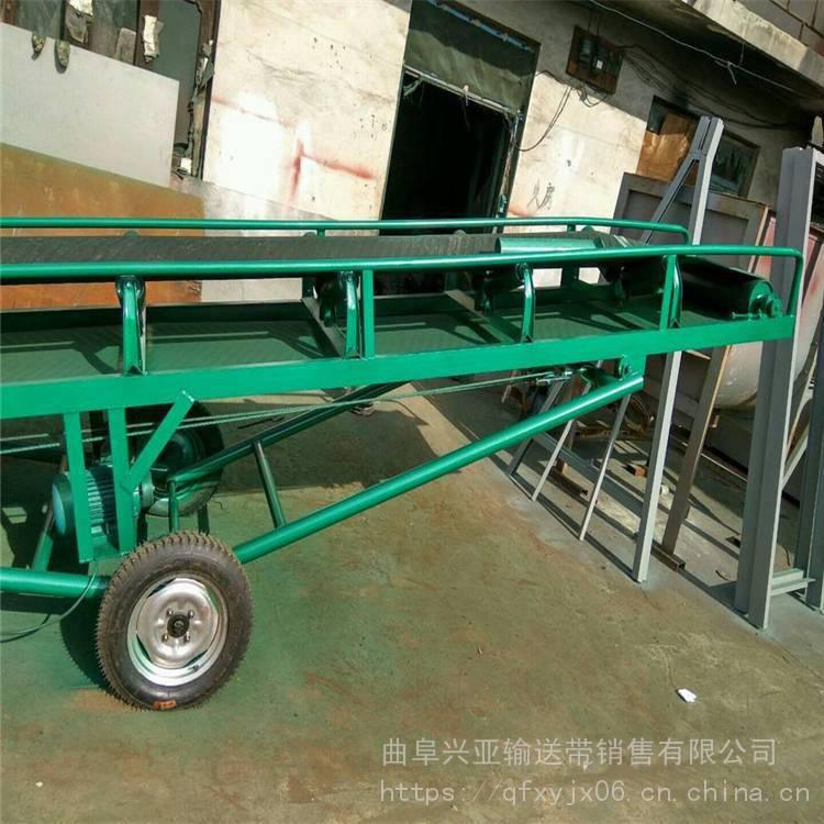 兴亚株洲市远距离输送机 砂石重型皮带机报价 不同宽度皮带机