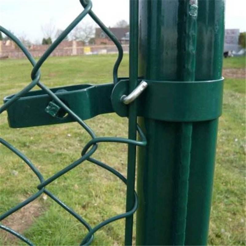 体育场围栏 高档小区防护网 勾花防护栏