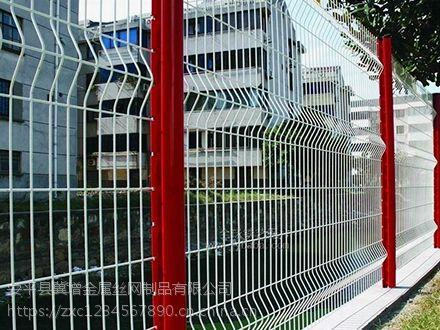 河北厂家小区围墙防护栏杆镀钢护栏喷塑铁艺护栏网