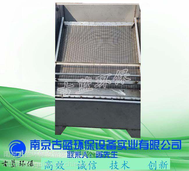 古蓝 不锈钢固液分离机 猪粪渣水分离机 养猪场粪便分离脱水