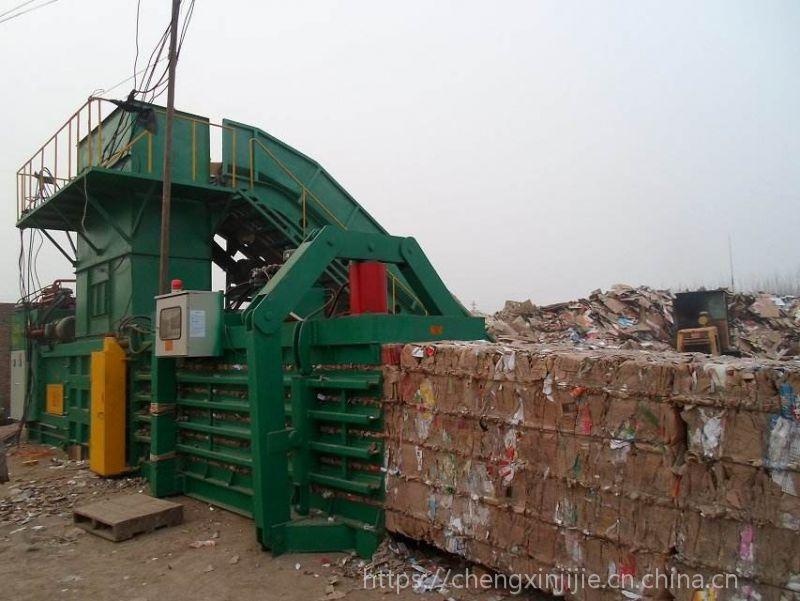 河南郑州宝泰机械低台废纸箱打包机二手转让厂家直销