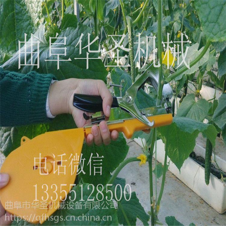 台湾原装进口手持式蔬菜捆扎绑枝机 手持式小型绑枝机