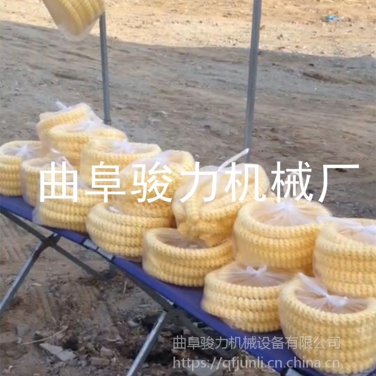 现场教学 玉米膨化机 大米花玉米花型号 柴油机10马力带杂粮膨化机 骏力直销