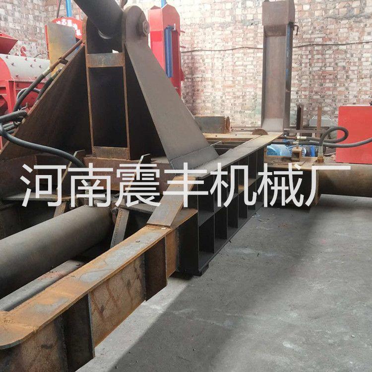 不锈钢废料压块机 铝丝钢丝金属成型机 彩钢瓦管件压块机震丰机械厂家推荐