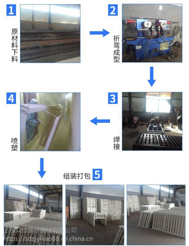 山东众佳ZJ-E11C二功能护理床 (冲孔)