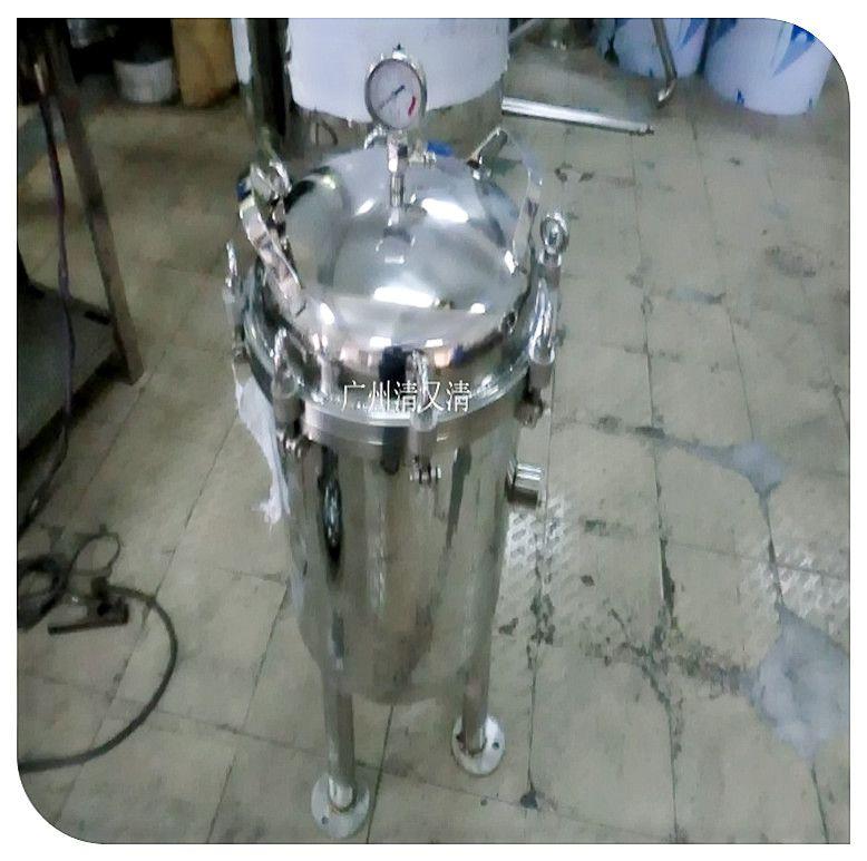 广旗桂林市304不锈钢精密保安过滤器前置中央净水器泥沙纯水机农村水处理器